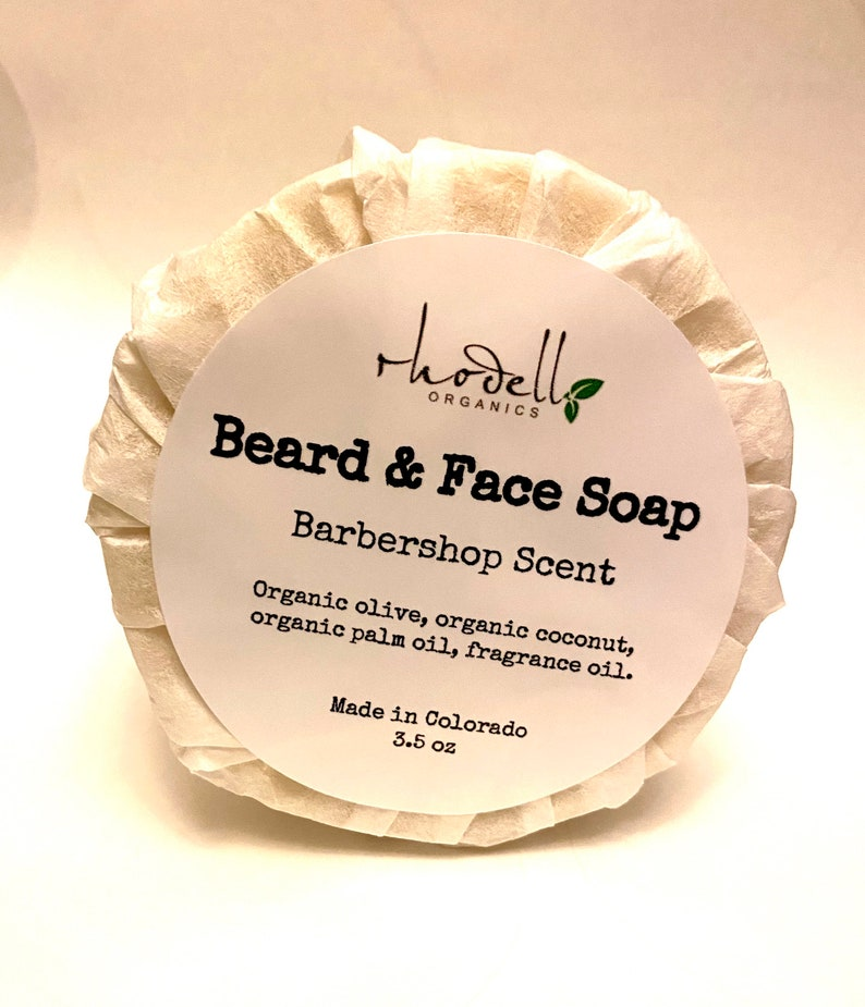 Soap Face Soap Beard Soap Cleanser Organic Free Shipping image 0