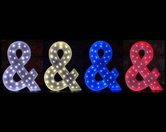 Marquee Letters - 8 Inch Light Up Letters - Lighted Letters - Personalized Gifts - Wedding Decor - Girls Gift Ideas - Home Decor