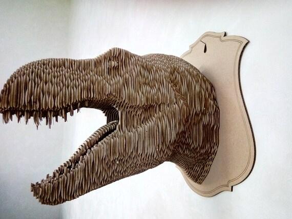 Karton Tarbosaurus-Trophäe-Kopf