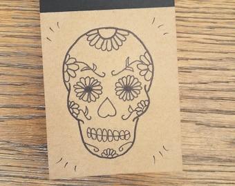 Mini bloc notes idea Kraft notebook