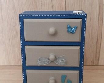 Mini decorative dresser drawer