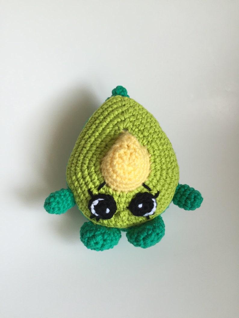 Shopkins Crochet Pattern Dippy Avocado Etsy