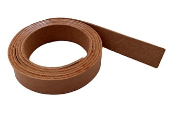 """Leather Strips 3/4"""" - 19MM Width 