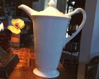 Vintage Shelledge by Syracuse Coffee Pot And Lid
