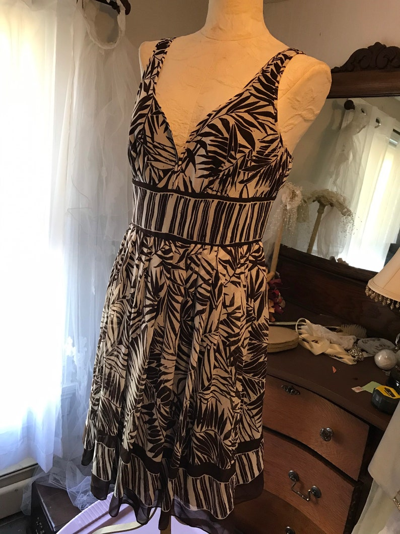 Size 10 Vintage Evan Picone Sundress Bohemian Sundress
