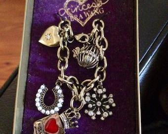 Princess Vera Wang Charm Bracelet
