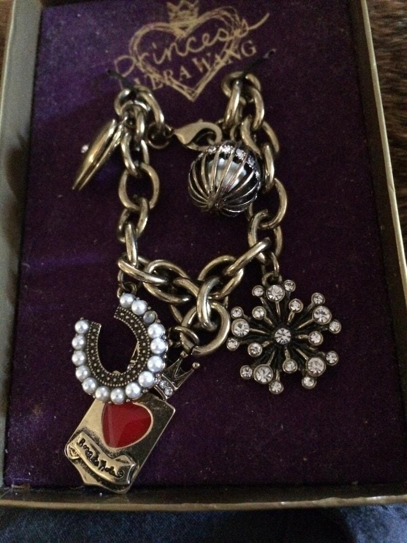 Princess Vera Wang Charm Bracelet Charm Bracelet