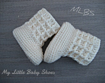 Crochet pattern baby booties baby boots Photo Tutorial Instant Download Nr.14