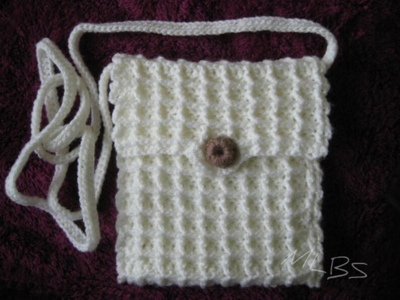 Crochet Pattern Crossbody Bag Crochet Shoulder Bags Patterns Etsy