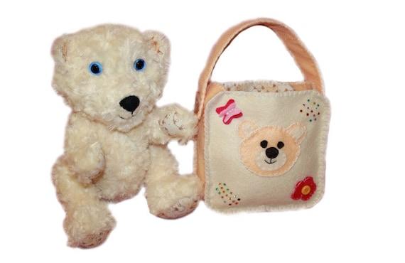 Memory Bear Pattern Sewing Tutorial Pdf Teddy Bear Bag Etsy