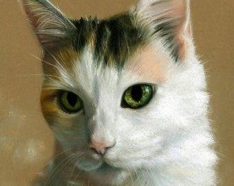 Portrait pet, pet rememberance, pet sympathy gift, pet commission, custom pet gift, memorial pet art, christmas gift, painting of pet