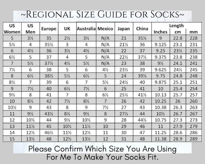 Orange mix Knitted Vegan Socks,