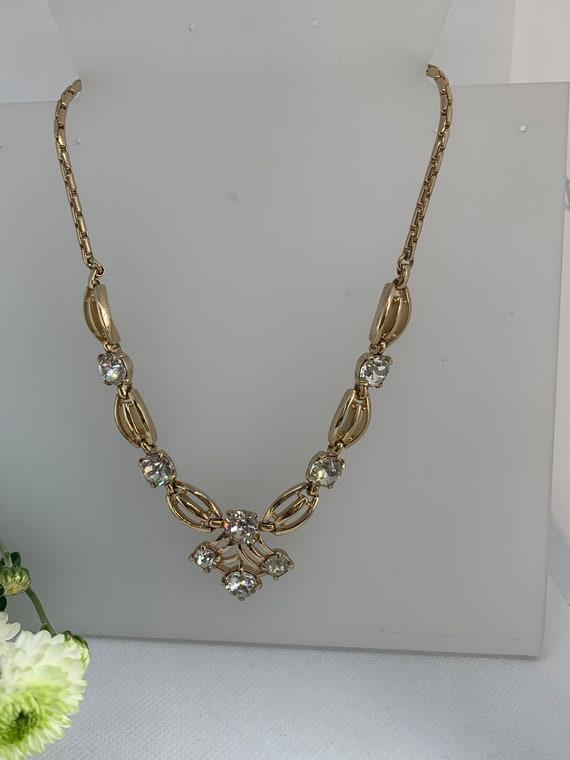 Napier Choker Necklace. Evening Necklace. Bridal R