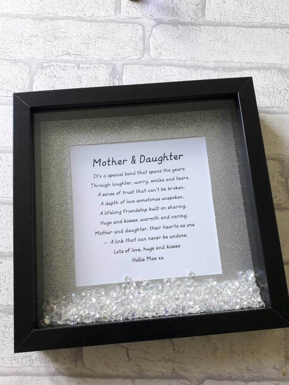 Mother & Daughter frame Gift for daughter Gift for Mother Gift for Mum Gift for Mam Frame Mother s Day t