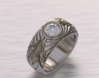 Paris Diamond Pinky Ring