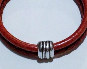 Saddle Savvy Leather Bracelet
