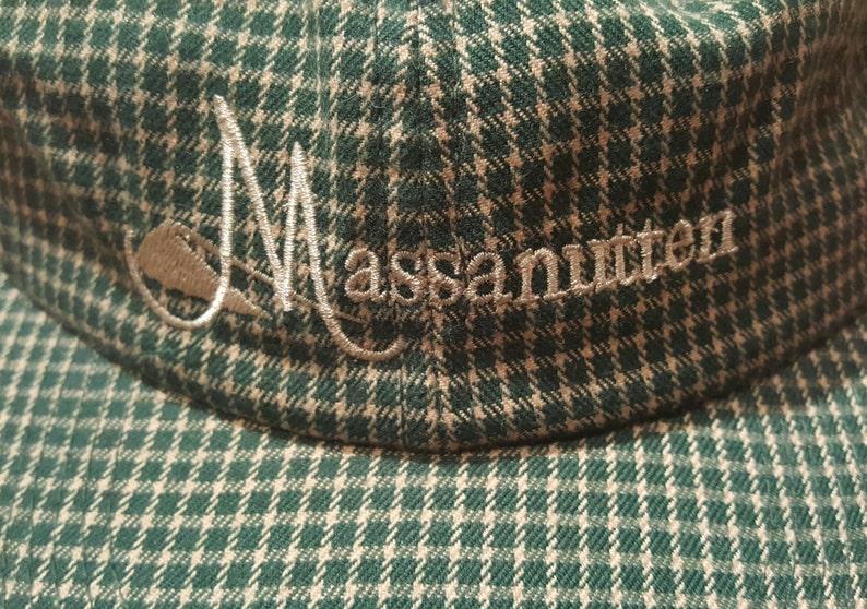 701a9300376 Vintage Dad Hat Plaid Hat Normcore Hat George Costanza Hat
