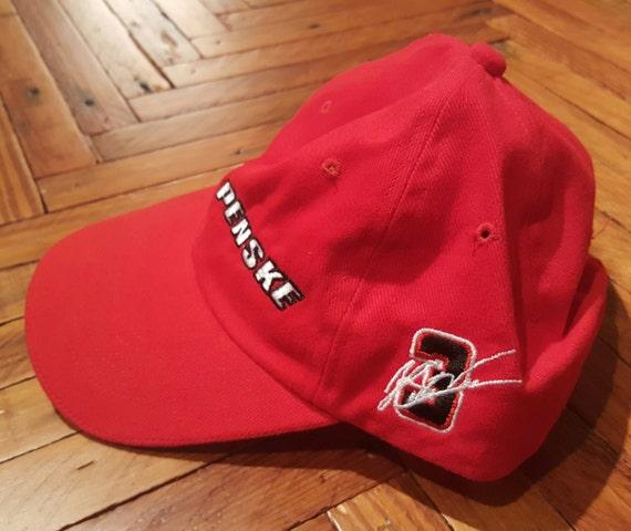 6433ecce42e Vintage Dad Hat Nascar Hat Indy Car Hat Team Penske Hat