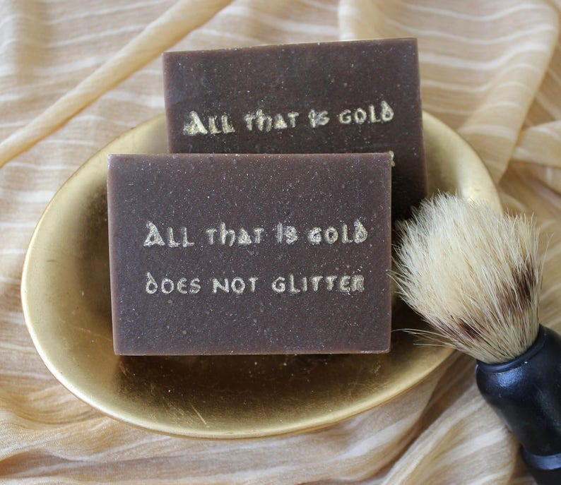 Aragorn's Shave Goat's Milk Soap image 0