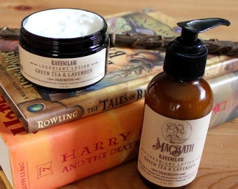 Ravenclaw Lavender and Green Tea Body Lotion