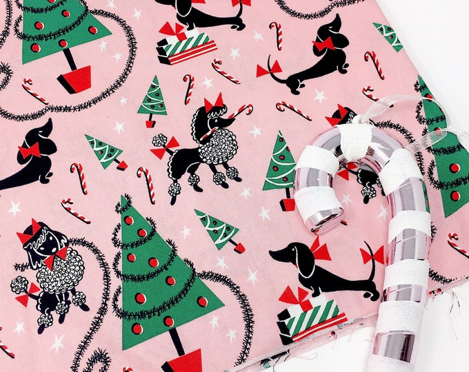 Featured listing image: Michael Miller fabric -  Christmas cotton fabric  -  Michael miller Christmas fabric