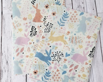 Woodland animals quilting fabric - Woodland nursery fabric  -  Woodland fabric fat quarter uk