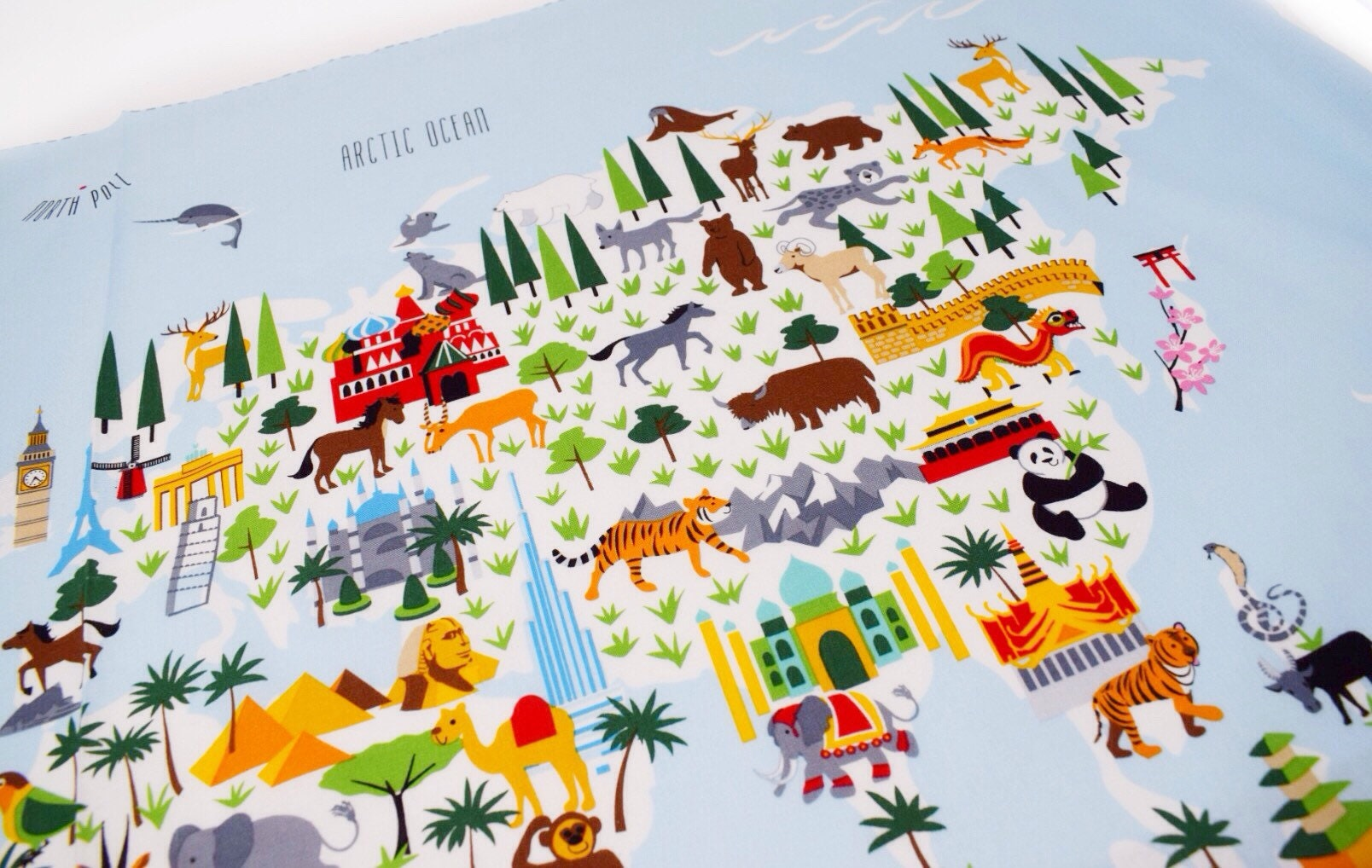 Free shipping fabric little explorers map world map panel map free shipping fabric little explorers map world map panel map panel fabric panel nursery decor fabric map map fabric childrens map gumiabroncs Image collections