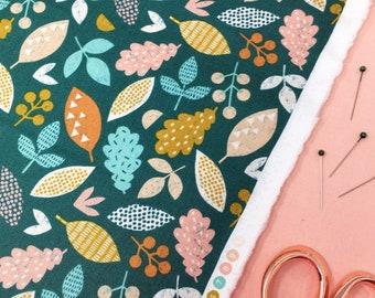 Dashwood Harvestwood Fabric,  Woodland Cotton Fabric,   Nursery decor cotton fabric