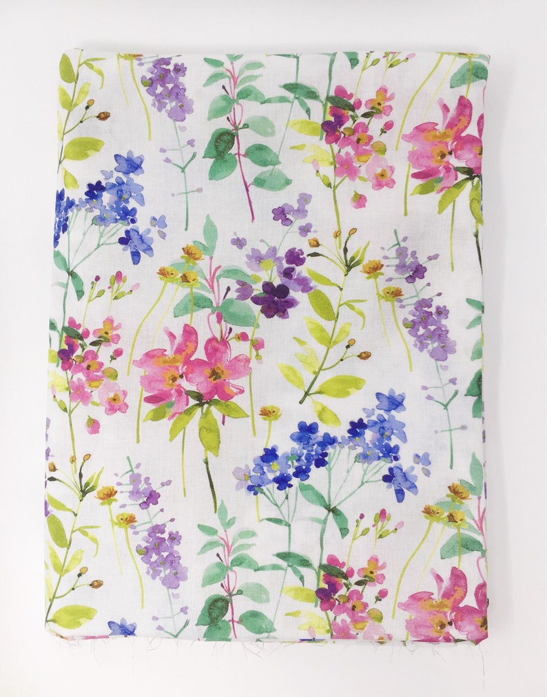 printed quality jersey fabric 150cm wide cotton blend material easter