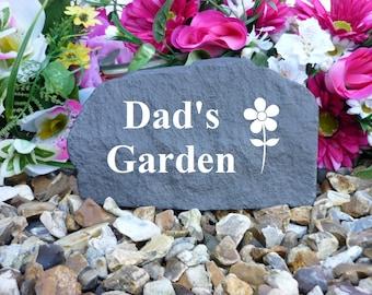MUM Black /& Gold Pebble Grave Stone Ornament Memorial Remembrance Gift