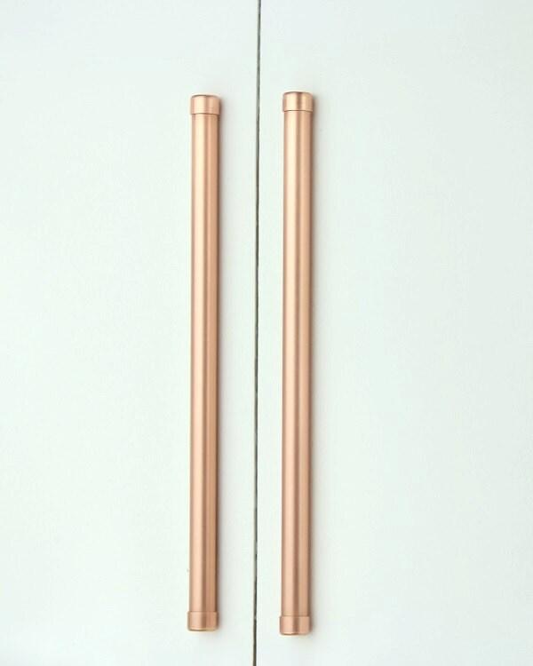 Moderne Kupfer Bar/Griff große Größen Schrank-Hardware | Etsy