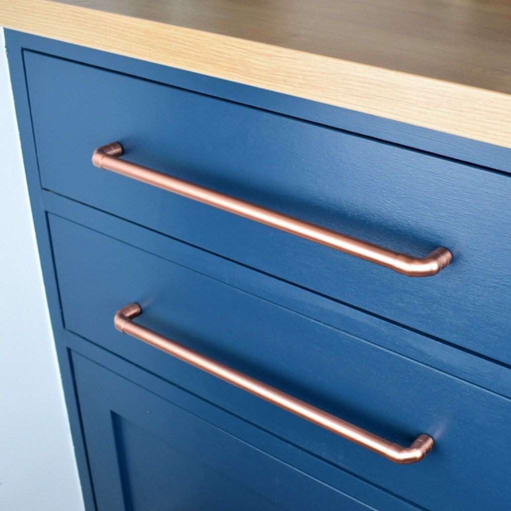 Copper Pull Large Sizes Drawer Handle Drawer Pull