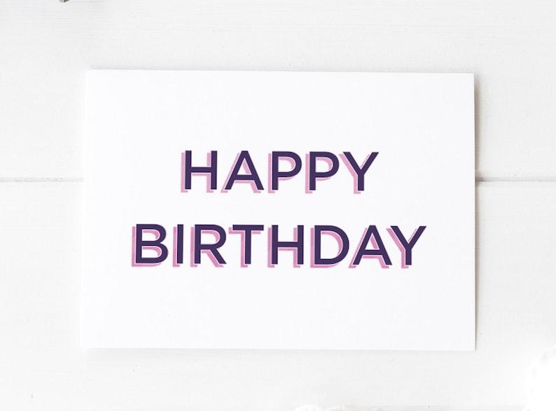 Stupendous Birthday Card Girlfriend Girlfriend Birthday Card Happy Etsy Personalised Birthday Cards Paralily Jamesorg
