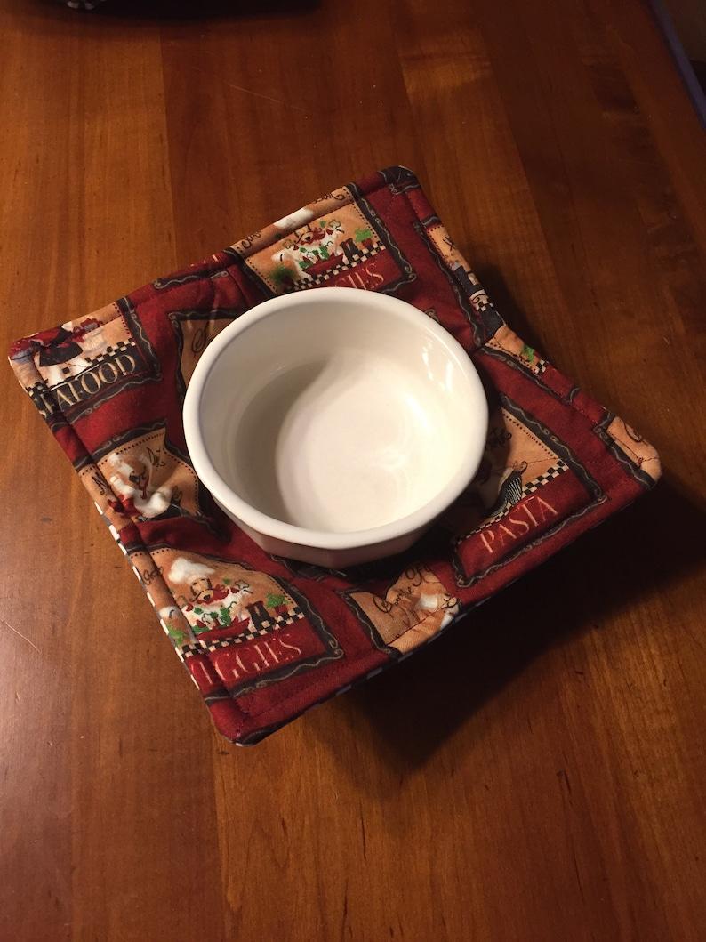 Microwave bowl holder handmade beautiful colors new microwave cozy