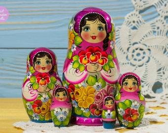 Nesting Doll Art Etsy