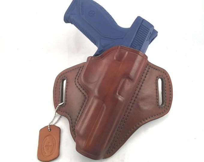 Ruger American 45 cal. - Handcrafted Leather Pistol Holster