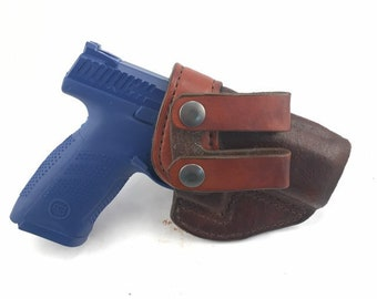 CZ P 10 C IWB - Handcrafted Leather Pistol Holster