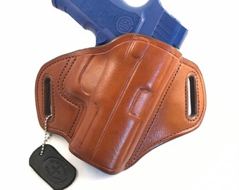 SIG 320 Carry/Compact/X-Carry/X-Compact - Handcrafted Leather Pistol Holster