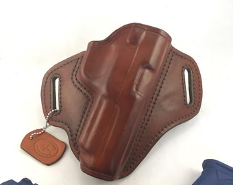 Ruger American 45 cal. * Ready to Ship - Handcrafted Leather Pistol Holster
