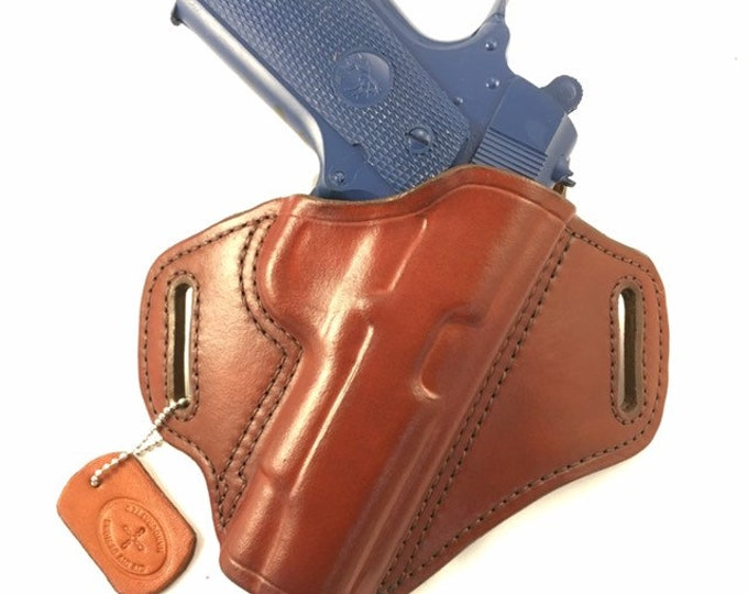1911 Commander - Handcrafted Leather Pistol Holster