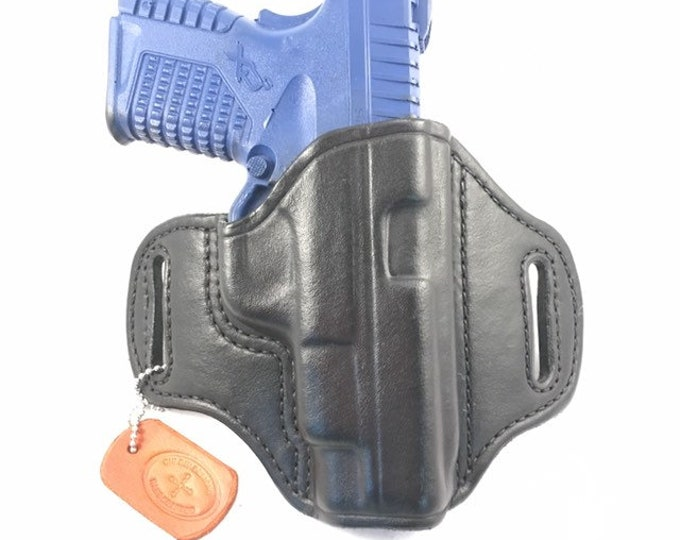 Springfield XDS 4.0 (zero cant) - Handcrafted Leather Pistol Holster