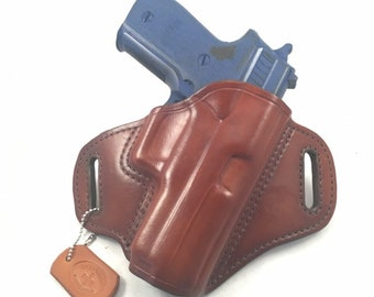 SIG p220 Carry - Handcrafted Leather Pistol Holster