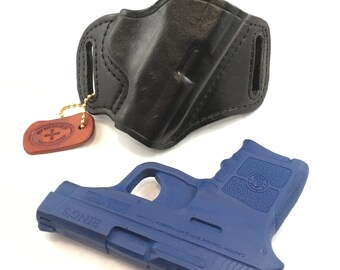 S & W MP Bodyguard - Ready to Ship - Handcrafted Leather Pistol Holster