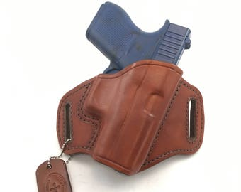 Glock 43 / 43X - Handcrafted Leather Pistol Holster