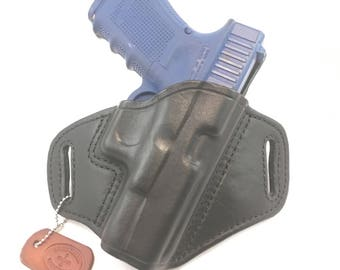 Glock G45 / G19 / G23 - Handcrafted Leather Pistol Holster