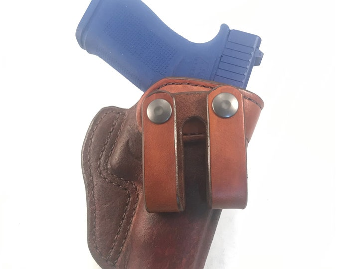 Glock 48 IWB - Handcrafted Leather Pistol Holster