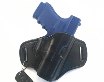 Glock 30S * Ready to Ship * - Handcrafted Leather Pistol Holster