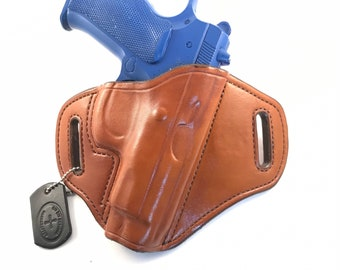CZ 75 B Compact *Ready to Ship* - Handcrafted Leather Pistol Holster