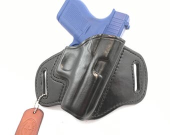 Glock 42 - Handcrafted Leather Pistol Holster