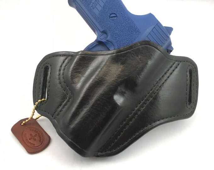 SIG p239 Kidney carry - Handcrafted Leather Pistol Holster